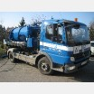 A road tanker (with a vacuum pump) - small